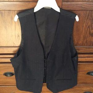 Men's Charcoal Gray Vest
